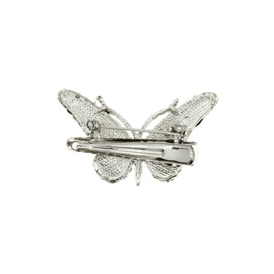 Mini Crystal Butterfly Brooch & Hairclip-Discontinued-Tegen Accessories