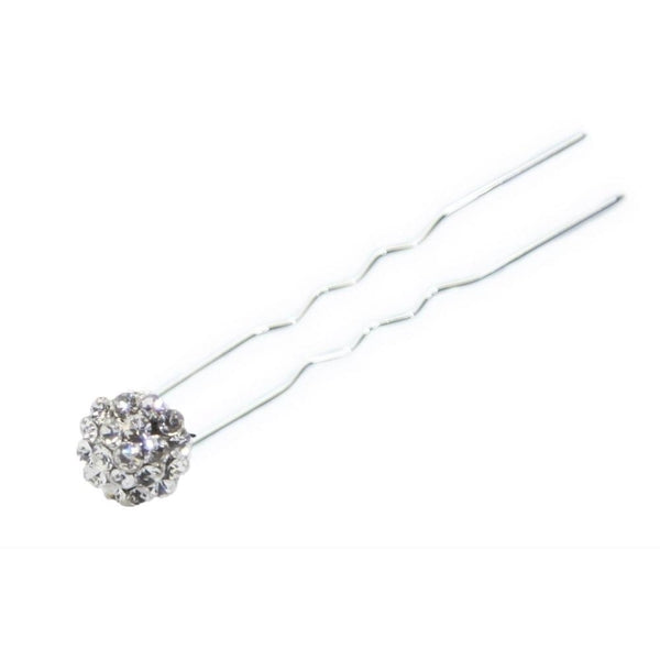 Mini Crystal Chignon Pin-Chignon pins-Swarovski Crystal-Clear Crystal-Tegen Accessories