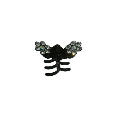 Mini Crystal Flower Hair Claw-Hair claws-Tegen Accessories-Clear Crystal-Tegen Accessories