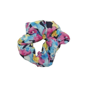 Mini Floral Scrunchie-Scrunchies-Children-Peach-Tegen Accessories