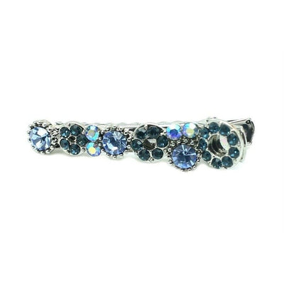 Mini Swarovski Beak Clip-Discontinued-Navy Crystal-Tegen Accessories
