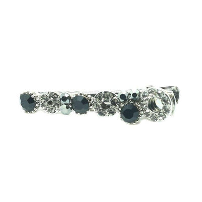 Mini Swarovski Beak Clip-Discontinued-Pewter Crystal-Tegen Accessories