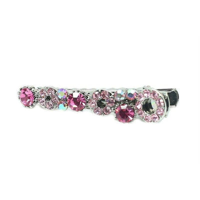 Mini Swarovski Beak Clip-Discontinued-Pink Crystal-Tegen Accessories