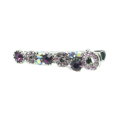Mini Swarovski Beak Clip-Discontinued-Purple Crystal-Tegen Accessories