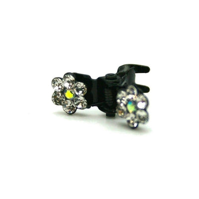 Mini Swarovski Crystal Flower Hair Claw-Discontinued-Tegen Accessories