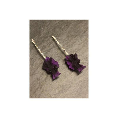 Monarch Hair Grips-Discontinued-Purple-Tegen Accessories