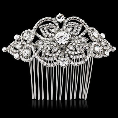 Myleene Vintage Crystal Comb-Hair combs-Bridal-Tegen Accessories