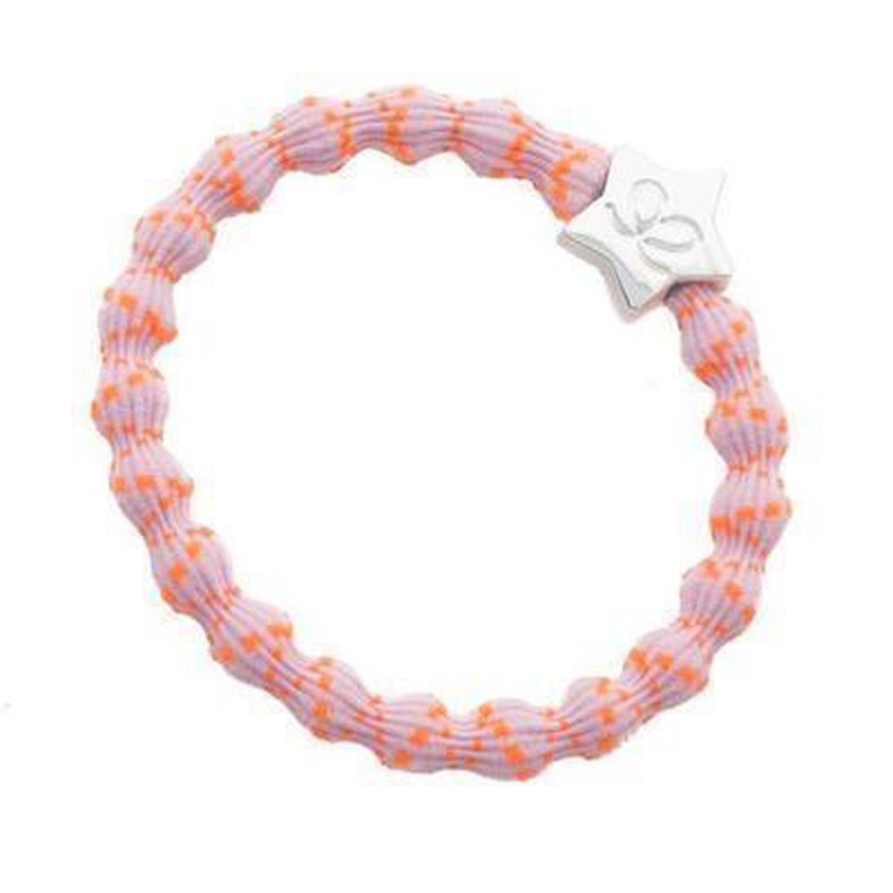 Neon Charm Hairband-Elastics-by Eloise-Crisscross Orange-Tegen Accessories