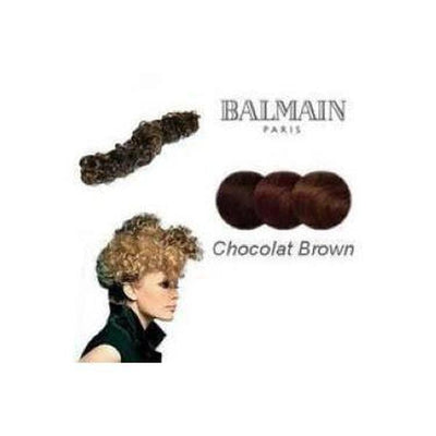 'Nice' Instant Curly Wired Hair Piece-Hair extensions-Balmain-Chocolate Brown-Tegen Accessories