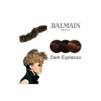 'Nice' Instant Curly Wired Hair Piece-Discontinued-Dark Espresso-Tegen Accessories