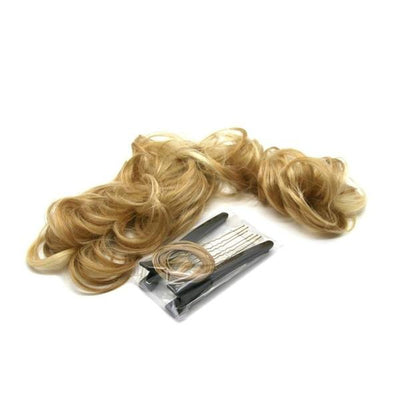 'Nice' Instant Curly Wired Hair Piece-Discontinued-Honey Blonde-Tegen Accessories