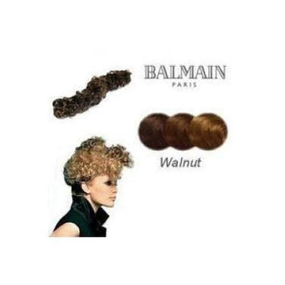 'Nice' Instant Curly Wired Hair Piece-Hair extensions-Balmain-Walnut-Tegen Accessories