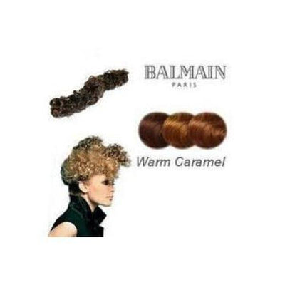 'Nice' Instant Curly Wired Hair Piece-Hair extensions-Balmain-Warm Caramel-Tegen Accessories