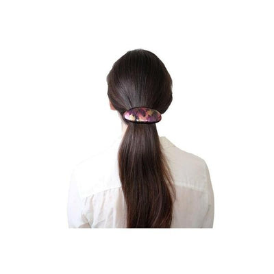 Oval Barrette-Barrettes-Essentials-Tegen Accessories