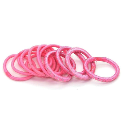 Pack of Baby Elastics-Elastics-Children-Pink-Tegen Accessories