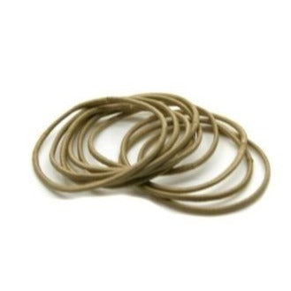 Pack of Thin Elastics-Elastics-Tegen Accessories-Blonde-Tegen Accessories