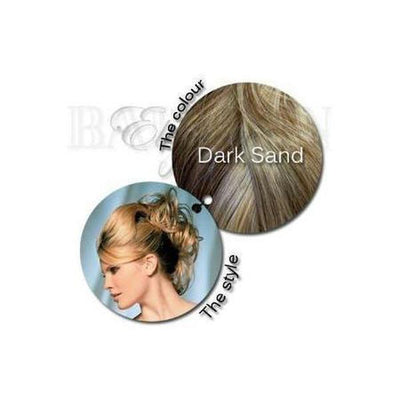 'Paris' Straight Wired Hair Piece-Hair extensions-Balmain-Dark Sand-Tegen Accessories
