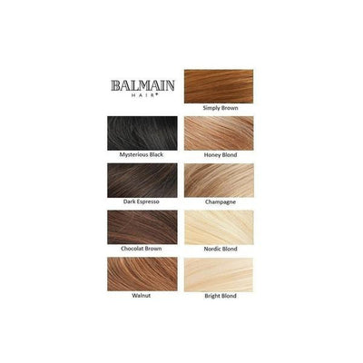'Paris' Straight Wired Hair Piece-Hair extensions-Balmain-Nordic Blonde-Tegen Accessories