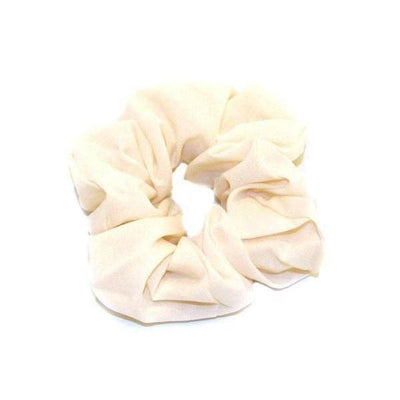 Pastel Scrunchie-Discontinued-Cream-Tegen Accessories
