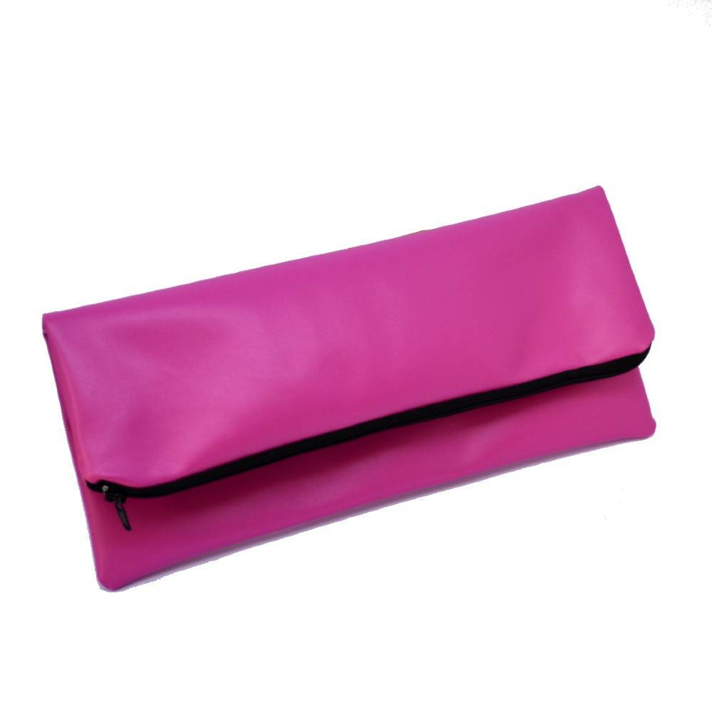 pink-handmade-vegan-leather-clutch-bag-bags-constance-halliday-tegen-accessories Pink