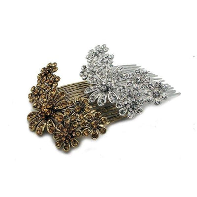 Scattered Daisy Hair Comb-Discontinued-Tegen Accessories