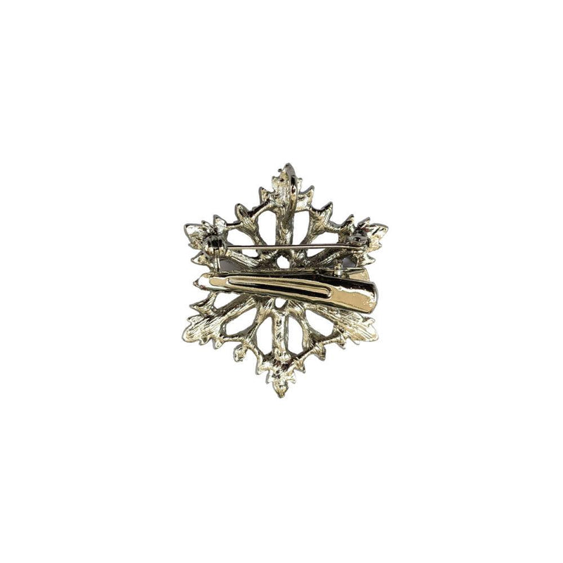 Silver Crystal Star Hair Clip/Brooch-Brooches-Rosie Fox-Tegen Accessories