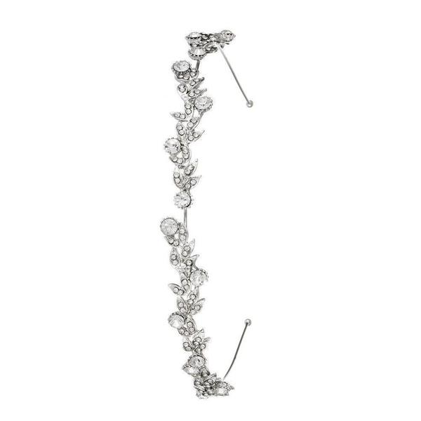 Silver Penelope Crystal Headband-Headbands-Rosie Fox-Tegen Accessories