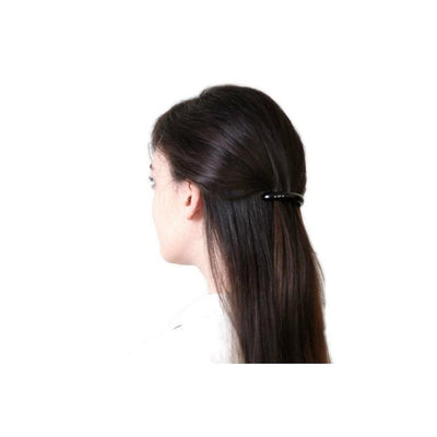 Small Arched Barrette-Discontinued-Tortoiseshell-Tegen Accessories