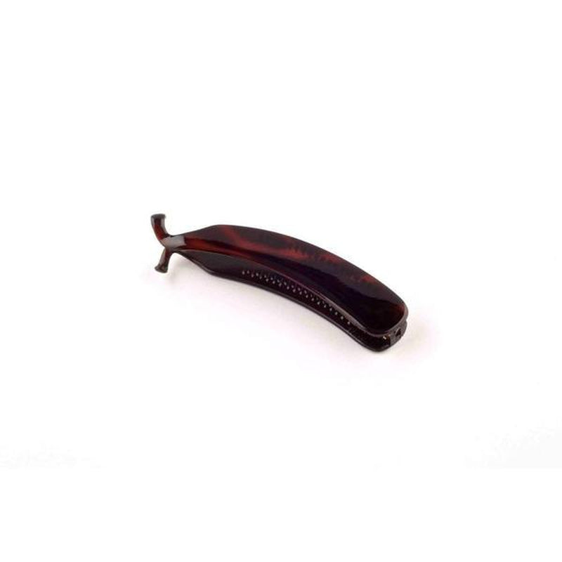 Small Banana Hair Clip-Banana clips-Essentials-Tortoiseshell-Tegen Accessories Brown