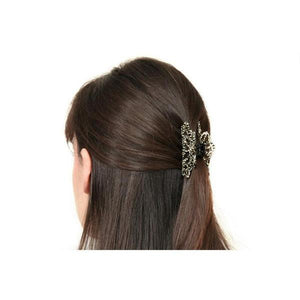 Small Floralie Hair Claw-Hair claws-Ooh La La!-Tortoiseshell-Tegen Accessories