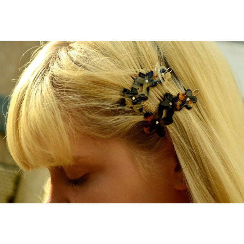 Small Flowers Hair Clip-Clips & slides-Ooh La La!-Tegen Accessories