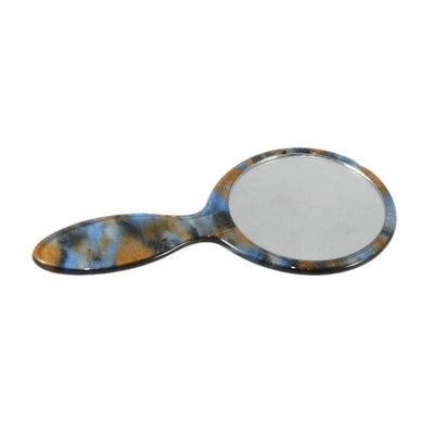 Small Handheld Mirror-Mirrors-Ooh La La!-Blue Smudged-Tegen Accessories