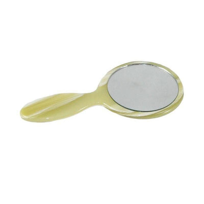 Small Handheld Mirror-Mirrors-Ooh La La!-Ivory Horn-Tegen Accessories