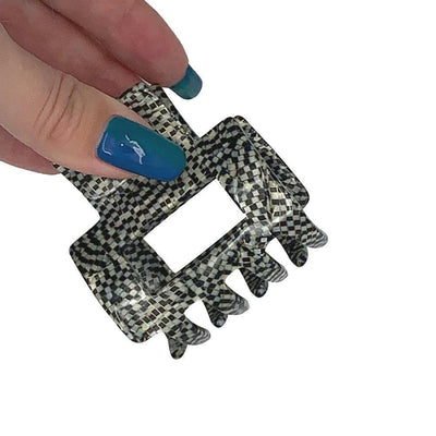 Small Rectangle Cut Out Hair Claw-Hair claws-Ooh La La!-Tegen Accessories