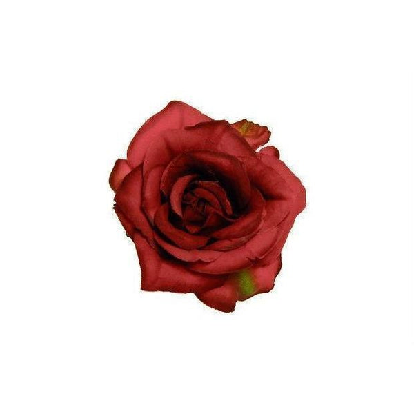 Small Red Rose Hairclip & Corsage-Discontinued-Red-Tegen Accessories
