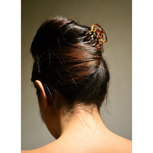 Square Hair Claw with Cut Out-Hair claws-Ooh La La!-Tegen Accessories