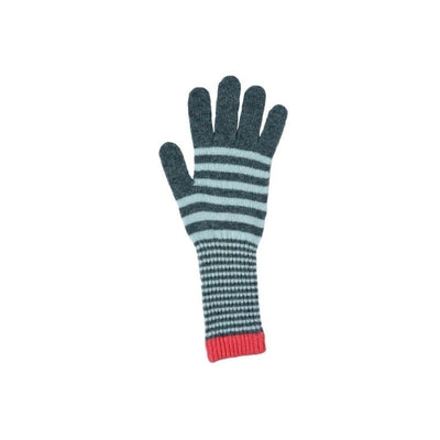 Stripe Lambswool Gloves-Discontinued-Spice-Tegen Accessories