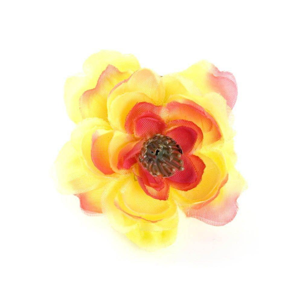 Sunset Cherry Blossom Hair Clip-Hair flowers-Rosie Fox-Tegen Accessories