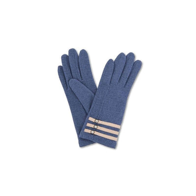 Suzy Wool Gloves-Discontinued-French Navy-Tegen Accessories
