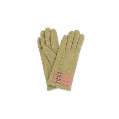 Suzy Wool Gloves-Discontinued-Moss-Tegen Accessories