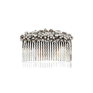 Swarovski Crystal Butterfly Comb-Hair combs-Swarovski Crystal-Clear Crystal-Tegen Accessories