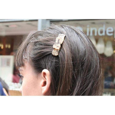 Swarovski Crystal Knot Hair Clip-Discontinued-Tegen Accessories