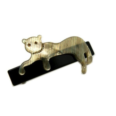 Swarovski Panther Barrette-Discontinued-Mother of Pearl-Tegen Accessories