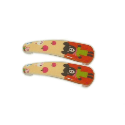 Teddy Bear Snap Clips-Discontinued-Pink-Tegen Accessories