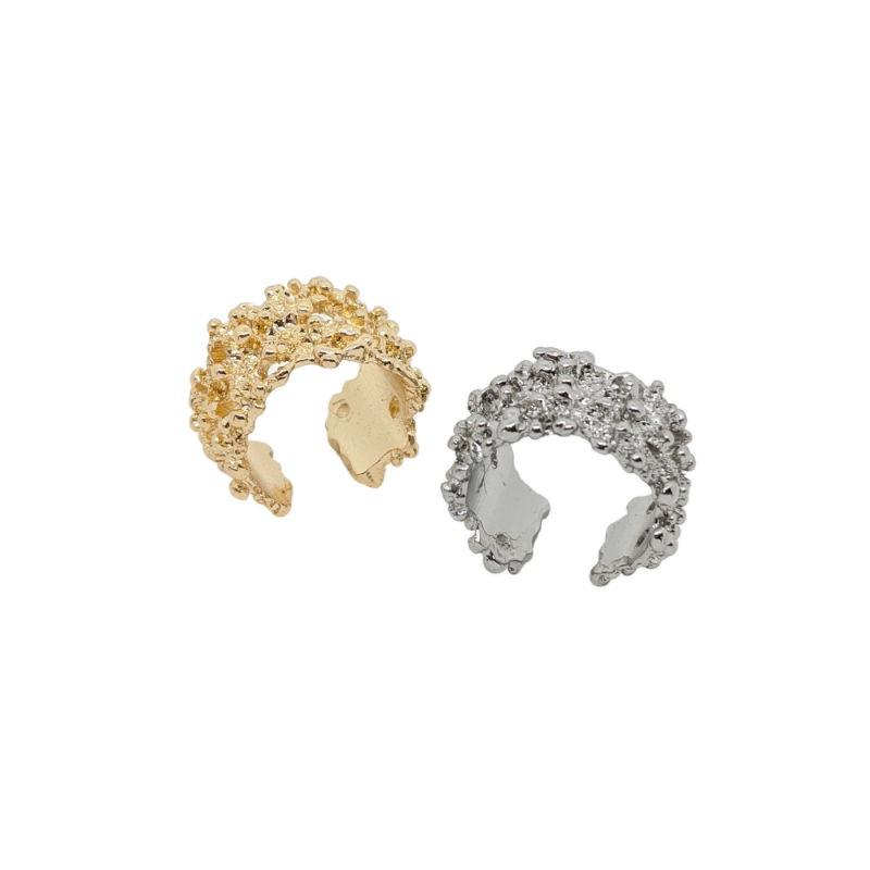 Textured Adjustable Ring-Rings-Big Metal-Tegen Accessories