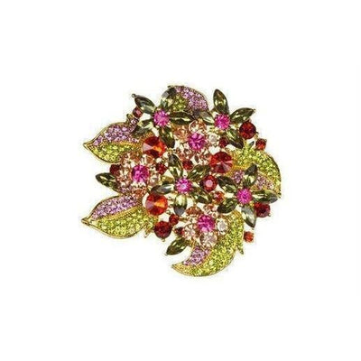 Tiffany Bouquet Brooch-Discontinued-Multicoloured-Tegen Accessories