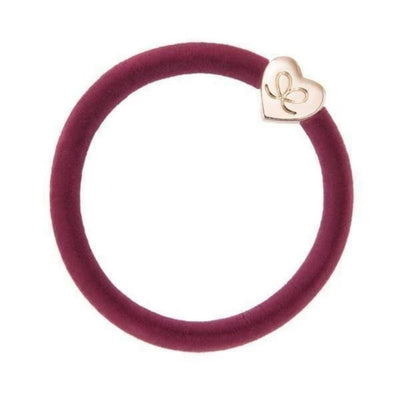 Velvet Charm Hairband-Elastics-by Eloise-Burgundy-Tegen Accessories