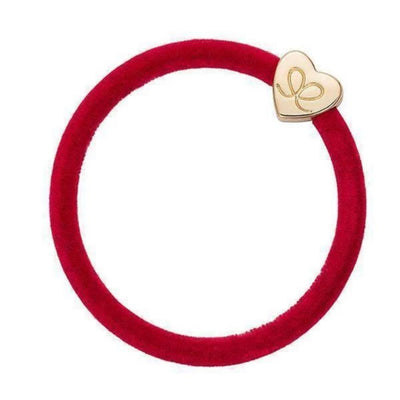 Velvet Charm Hairband-Elastics-by Eloise-Red-Tegen Accessories