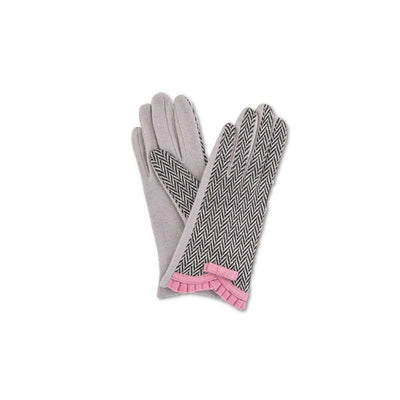 Victoria Wool Gloves-Discontinued-Candy Pink-Tegen Accessories