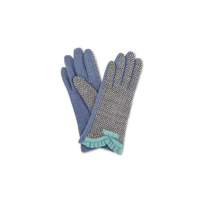 Victoria Wool Gloves-Discontinued-French Navy-Tegen Accessories
